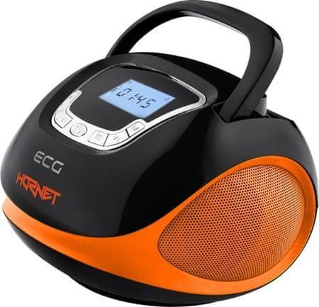ECG radio R 500 U, oranžno-črna