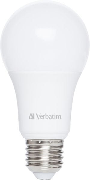 Verbatim LED žárovka E27 8,8W 810lm studená bílá