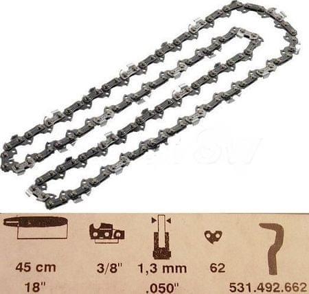 """Dolmar Pilový řetěz 45cm 3/8"""" 1,3mm (531492662)"""