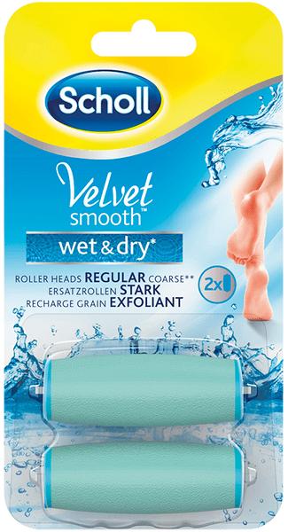 Scholl Velvet Smooth Wet&Dry náhrady hrubé 2ks