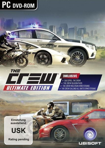 Ubisoft The Crew: Ultimate edition / PC
