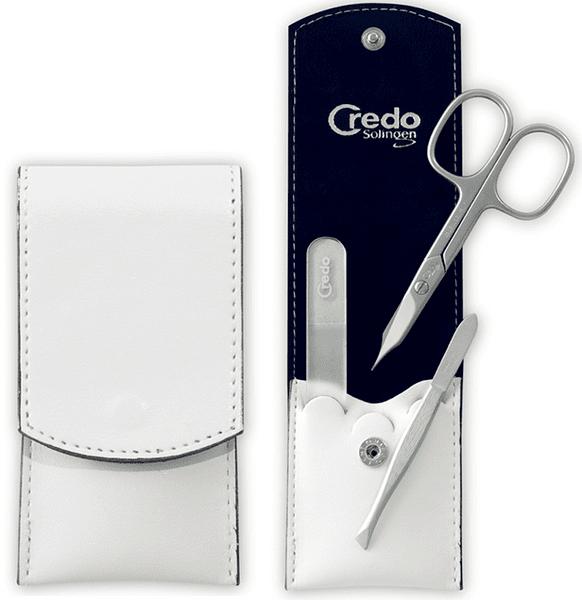 Credo Solingen Luxusní 3 dílná manikúra Bianco 3