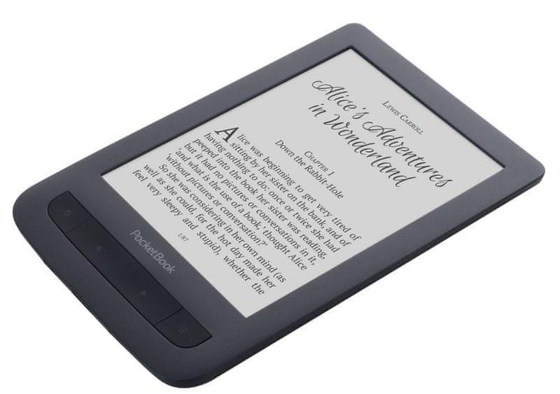 PocketBook 625 Basic Touch 2 , šedý - II. jakost
