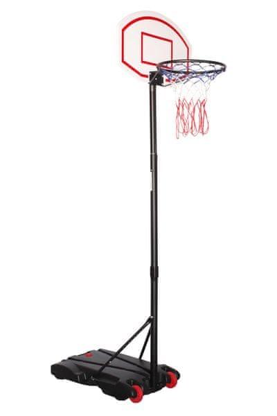 Eddy Toys Basketbalový koš, nastavitelný
