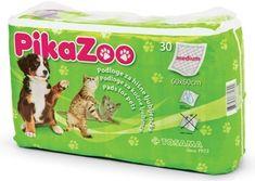 TOSAMA PikaZoo podloga za hišne ljubljenčke (60 x 60 cm), velikost M, 30 kosov