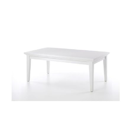 Konferenčný stolík, DTD fóliovaná/MDF lakovaná, biela, PARIS