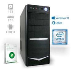 mimovrste=) namizni računalnik Home Office2 CX3 i3-7100/8GB/1TB HDD/Win10 + Office 365