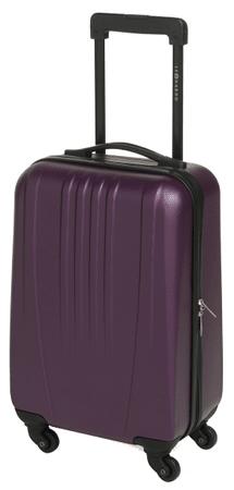 Leonardo kabinski kovček Trolley 18 ABS, vinsko rdeč