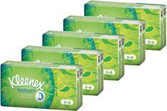 Kleenex Balsam Papírové kapesníčky 5x 12 balíčků