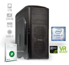 mimovrste=) namizni računalnik Zver PF7 i7-7700/16GB/3TB+250GB SSD/GTX1060/FreeDOS