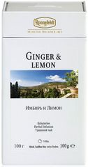 Ronnefeldt Herbata ziołowa Ginger & Lemon 100 g