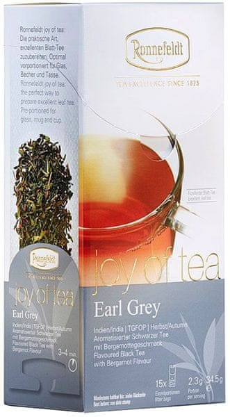 Ronnefeldt Joy of Tea Earl Grey 15 sáčků
