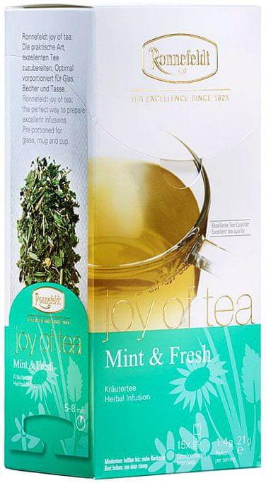 Ronnefeldt Joy of Tea Mint & Fresh 15 sáčků