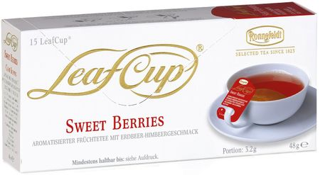 Ronnefeldt Herbata LeafCup Sweet Berries 15 szt.