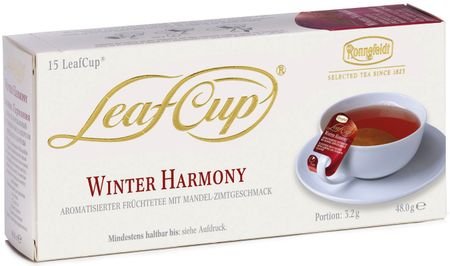 Ronnefeldt LeafCup Winter Harmony Filteres Gyümölcs tea, 15 adag