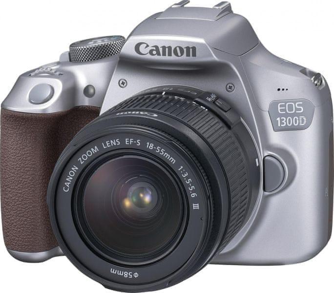 Canon EOS 1300D + 18-55 EF-S DC III Metallic Grey
