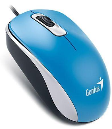 Genius DX-110 Vezetékes egér, USB, Kék