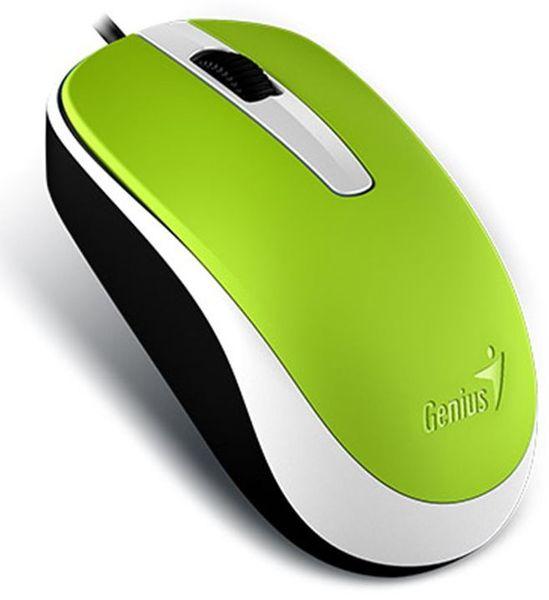 Genius DX-120/ drátová/ 1200 dpi/ USB/ zelená (31010105110)