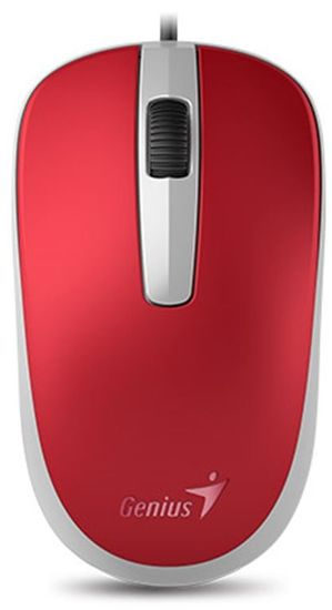 Genius optična miška DX-120, rdeča