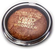 Makeup Revolution puder brązujący Vivid Baked Bronzer - Rock On World - 13 g