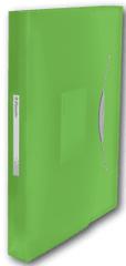 Esselte Aktovka s přihrádkami VIVIDA zelená