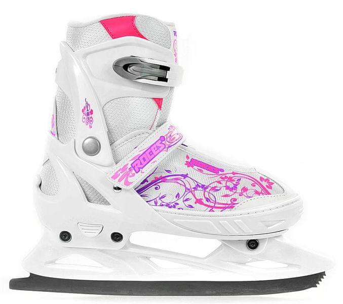 Roces Jokey Ice Girl Bílá/Růžová 26-29