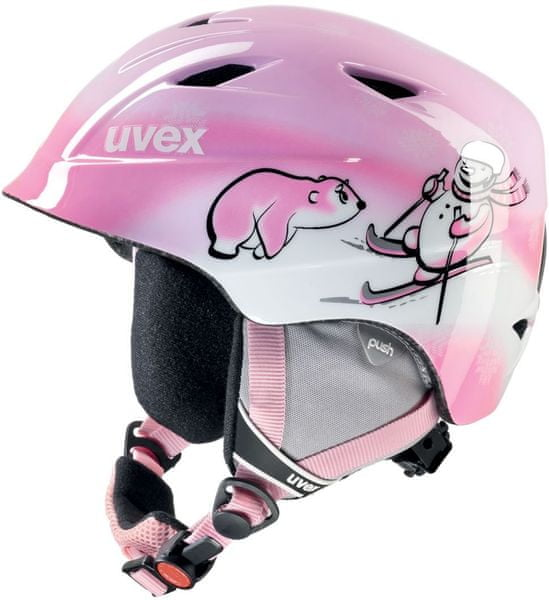 Uvex AIRWING 2, pink snowman 46-50