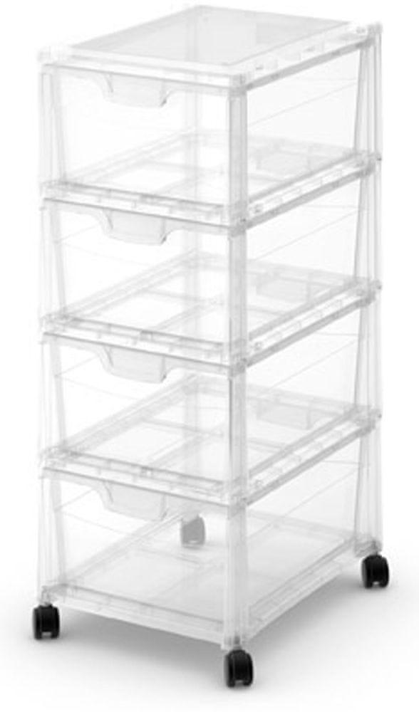 Kis Box se 4 zásuvkami Spider Tower 24