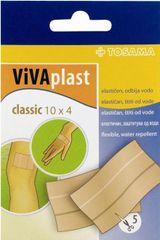 TOSAMA Vivaplast obliži Classic, 10 x 4 cm, 5 kosov