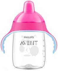 Philips Avent Hrneček pro první doušky 340 ml, růžový