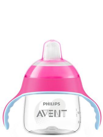 Avent Kubek niekapek Premium 200 ml, różowy