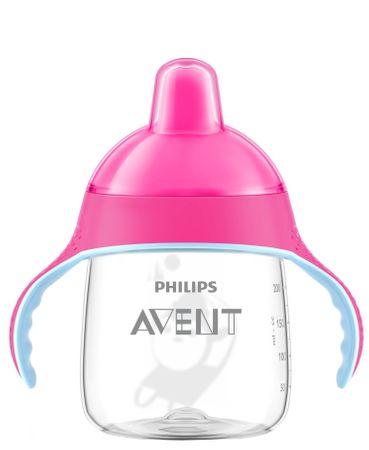 Avent Cumisüveg, 260 ml, Rózsaszín