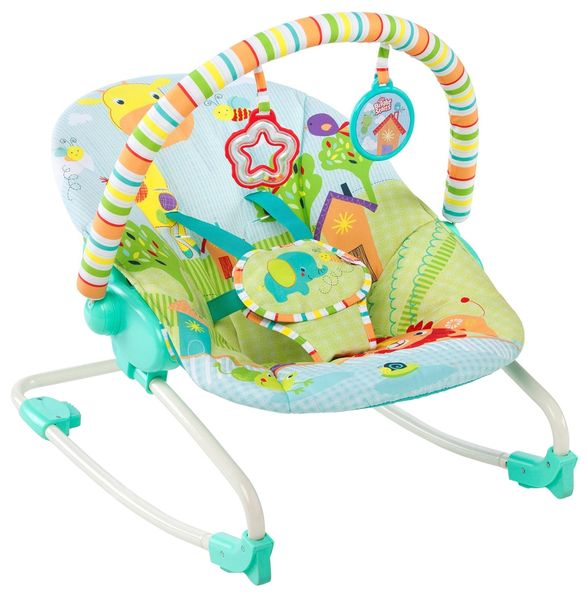 Bright Starts Houpátko Snuggle Jungle, 0m+, do 18 kg