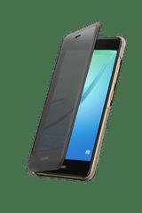 Huawei Nova Smart Flip Cover Telefontok, Sötétszürke outlet