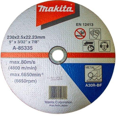 Makita Kotouč řezný kov 230x2,5x22 Z60T-BF