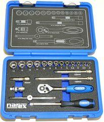 Narex Sada hlavic 1/4' 20dílná (443000903)