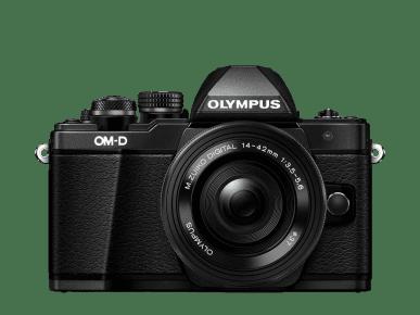 Olympus aparat kompaktowy OM-D E-M10 Mark II + 14-42 II R,czarny