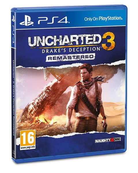 Sony Uncharted 3: Drake's Deception / PS4