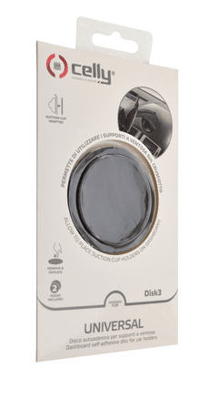 Celly disk - základna pro připevnění přísavných držáků