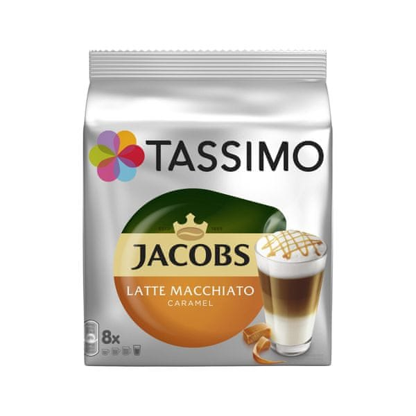 Bosch TASSIMO JACOBS LATTE MACCHIATO CARAMEL 2x 268g