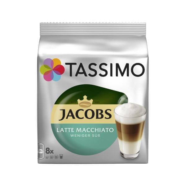 Bosch TASSIMO JACOBS Latte Macchiato less sweet 2x 236g