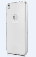 Alcatel Shine Lite GS50 Szilikon tok, Átlátszó