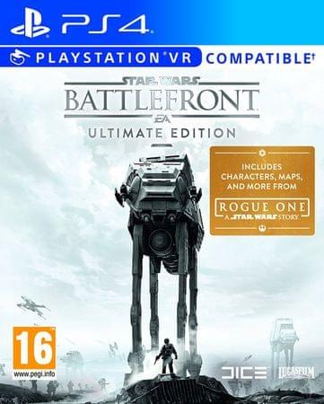 EA Games Star Wars Battlefront [Ultimate Edition] (PS4) Játékprogram
