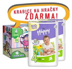 Bella Happy Maxi Big Pack - 132 ks