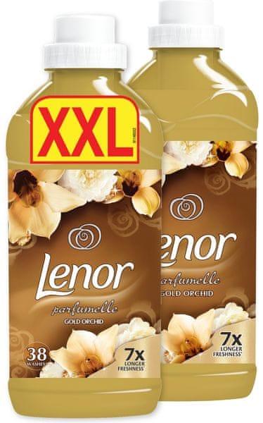 Lenor Gold Orchid aviváž 2x 1,14 l