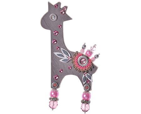 Petra Švarcová Romantická brošňa Žirafa