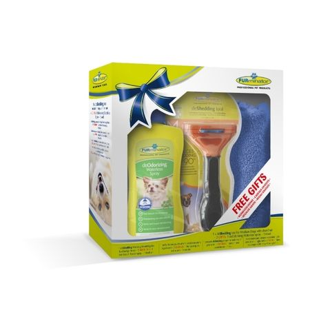 FURminator glavnik Medium Short Hair za pse, božično pakiranje