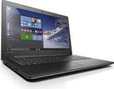 "Lenovo notebook 310-15ISK Black i3-6100U 15.6"" 4GB 500GB W 10 (80SM00RPPB)"