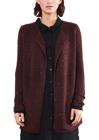 s.Oliver sweter damski M burgund