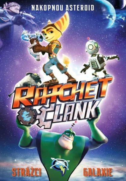 Ratchet a Clank: Strážci galaxie - DVD